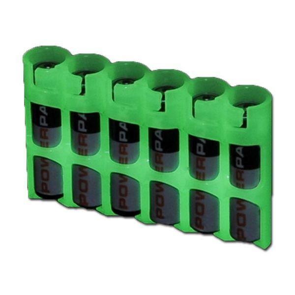 Porte batteries Powerpax SlimLine 6 x AAA fluorescent