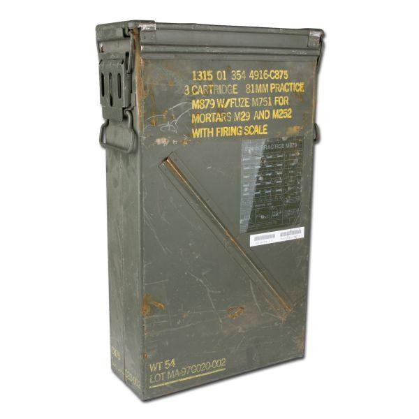 Caisse à munition US no. 8 occasion