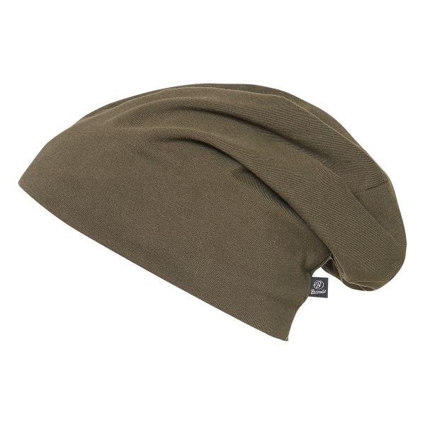 Brandit Bonnet Jersey vert olive