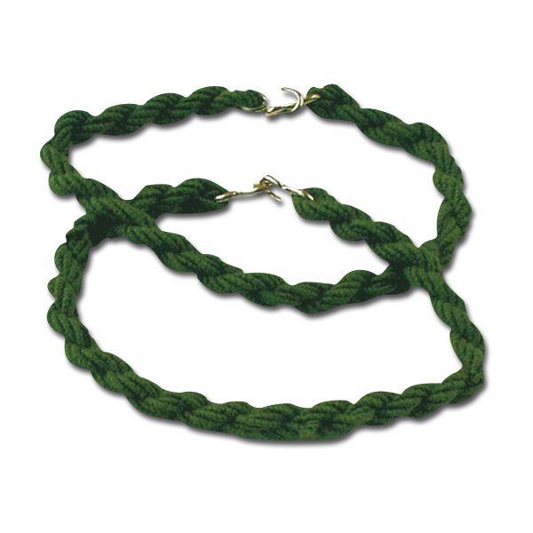 Élastique à crochets pour pantalon olive