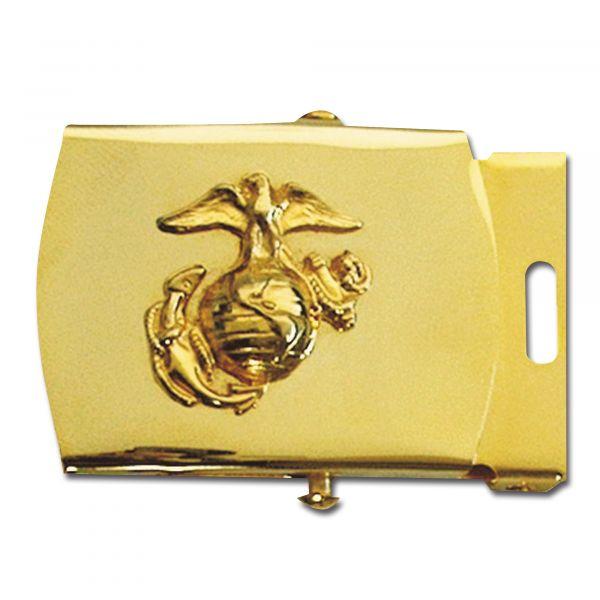 Boucle de ceinture USMC or