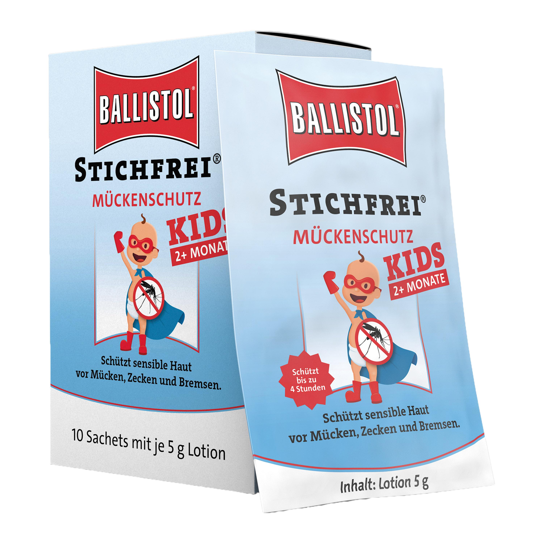 Lingettes Stichfrei Kids boîte de 10