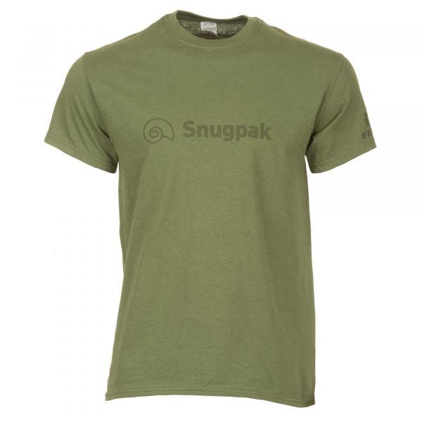 Snugpak T-Shirt Logo Cotton olive