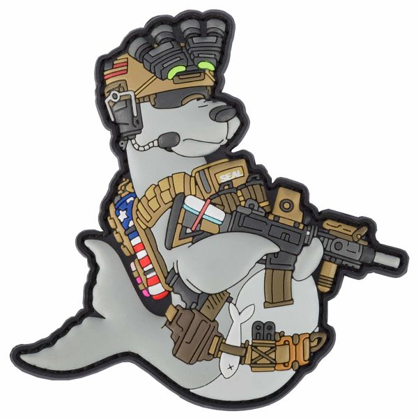 TacOpsGear Patch 3D PVC Fred Fisher Navy Seal Operator