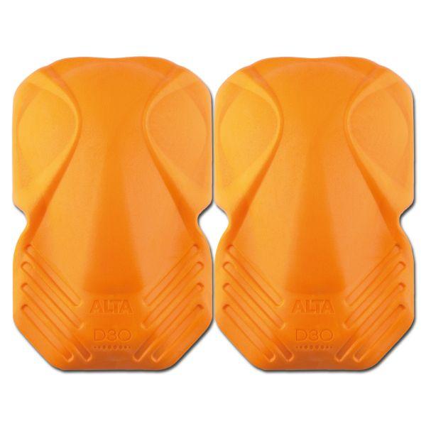 ALTA Genouillères Shockguard D30 Soft Shell orange