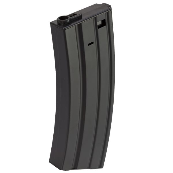 Pirate Arms Chargeur Airsoft M4 Mid-Cap 150 coups noir