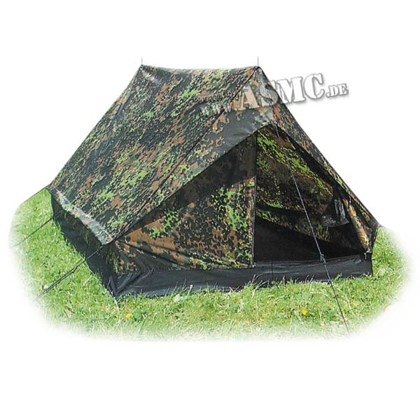 Tente Mini Pack 2 places flecktarn