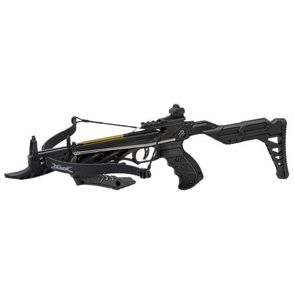Man Kung Pistolet arbalète Alligator II 80 lbs noir