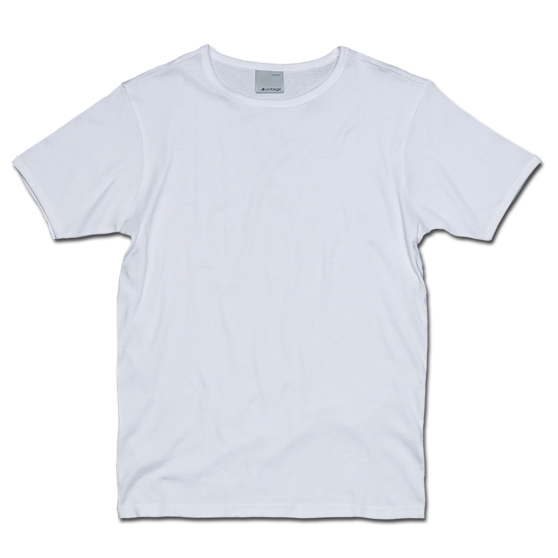 T-Shirt Vintage Industries Morrow blanc