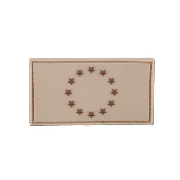 Patch 3D drapeau UE tan