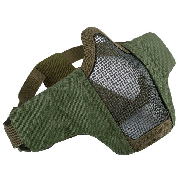 Invader Gear Masque grillagé Mk.II Steel Half Face Mask olive