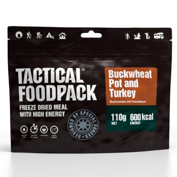 Tactical Foodpack Repas Outdoor Pot de sarrasin et dinde