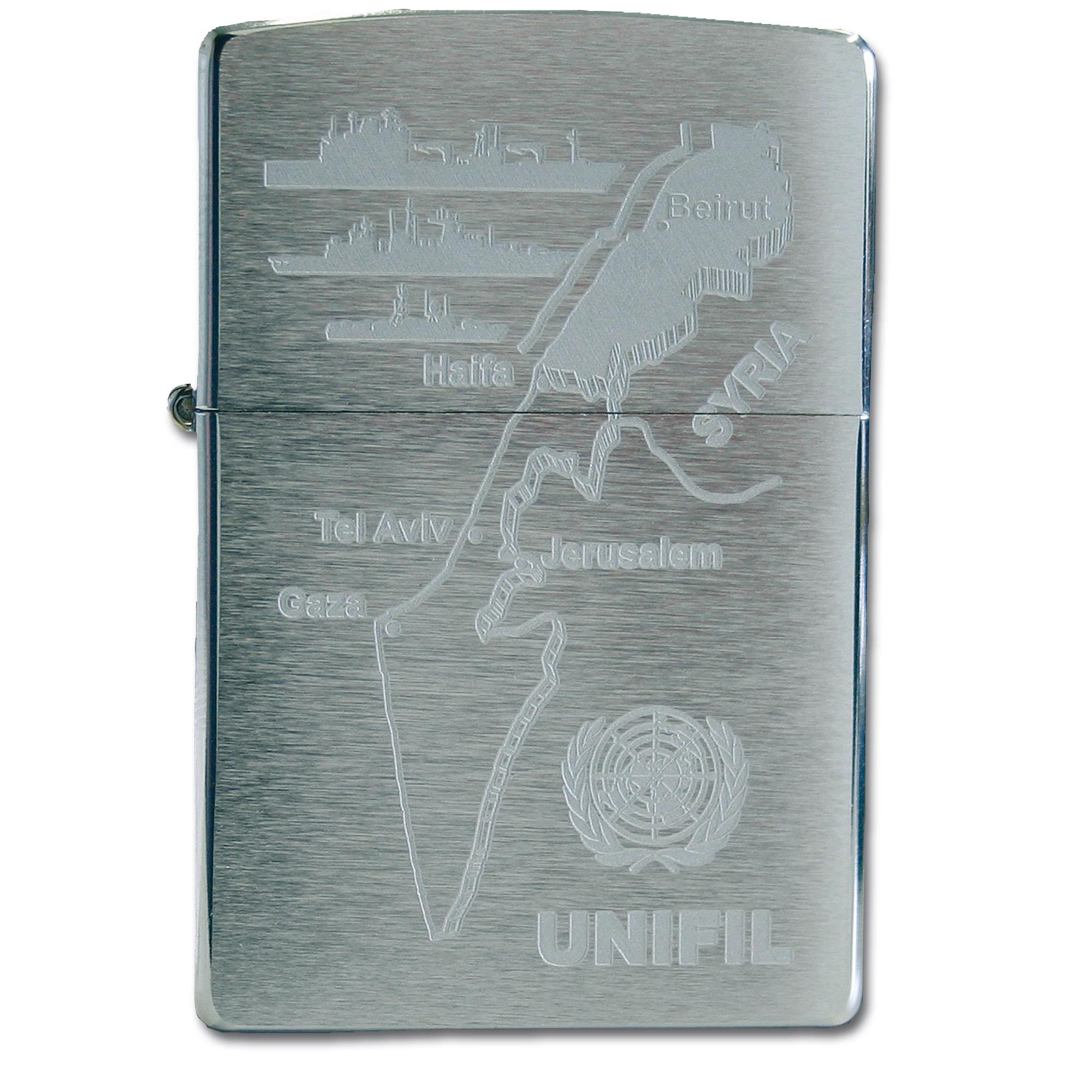 Zippo avec gravure UNIFIL