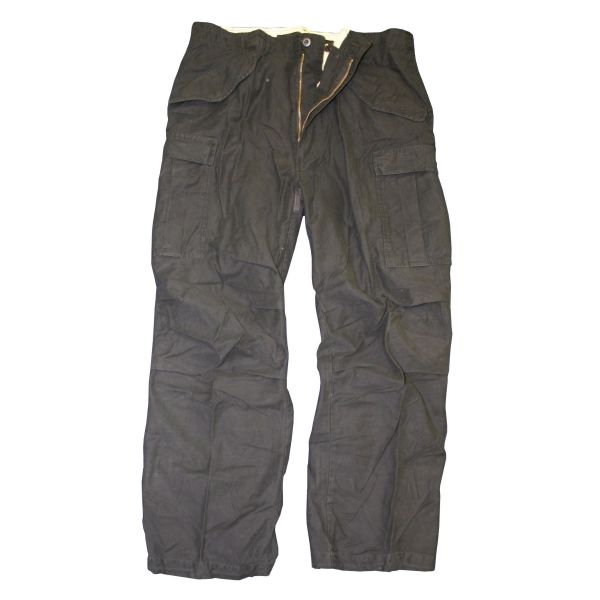 Pantalon MMB M-65 pré-lavé noir