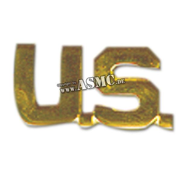 Patte de col US (lettres) or