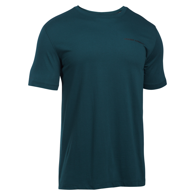 T-shirt Under Armour Charged Cotton bleu