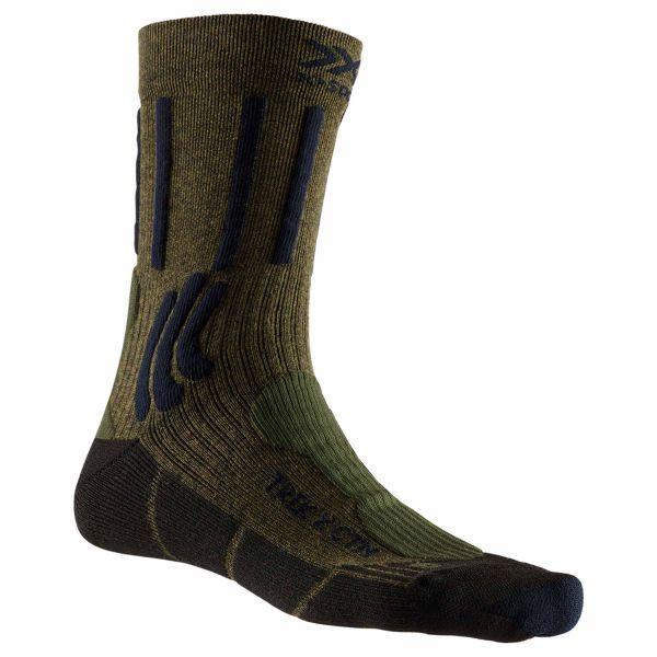 X-Socks Chaussettes Trek X CTN vert