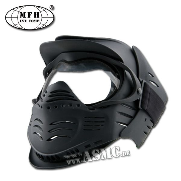Masque Airsoft MFH Fight noir