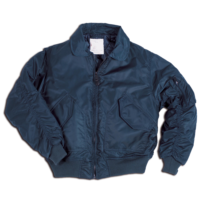 Blouson style CWU bleu