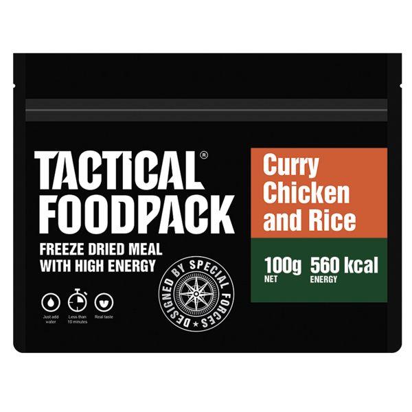 Tactical Foodpack Repas Outdoor Poulet au Curry et Riz