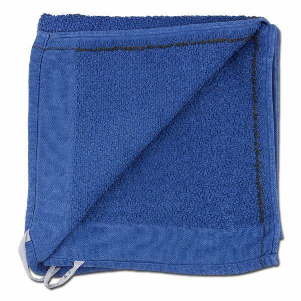 Serviette BW bleue comme neuve