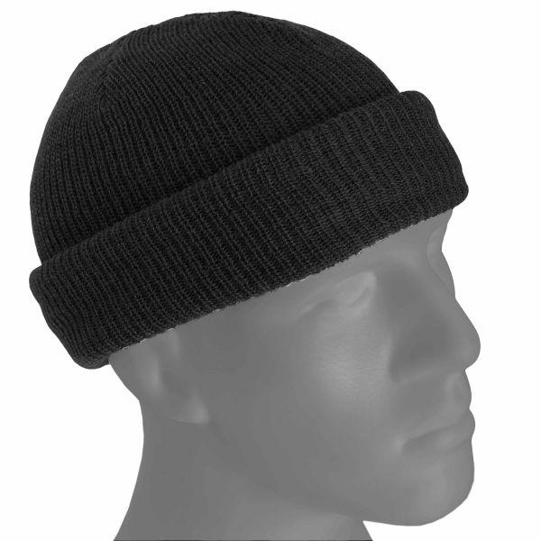 Mil-Tec Bonnet US Watch Cap laine noir