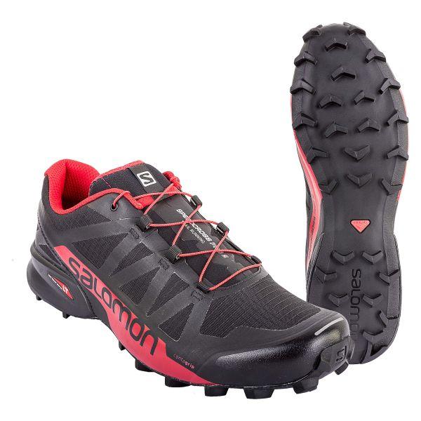 Salomon Chaussures Speedcross Pro 2 noir rouge