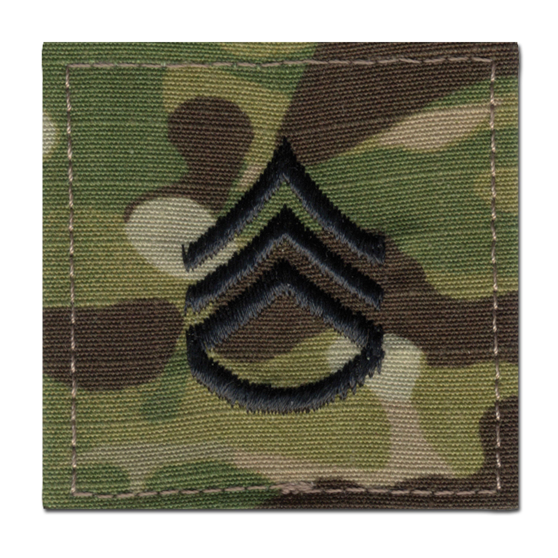 Grade US Multicam Staff Sergeant
