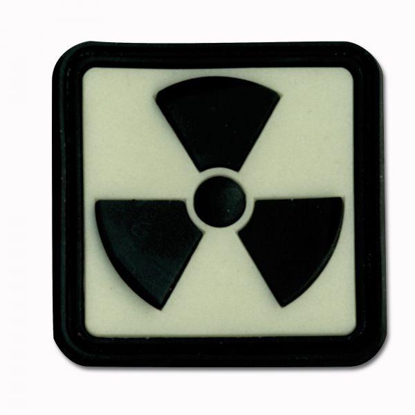 Patch 3D radioactif lumiscent