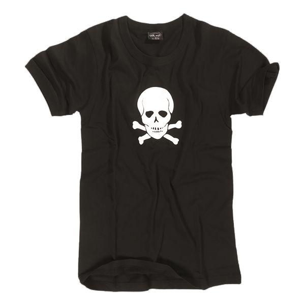 T-shirt US TETE DE MORT noir