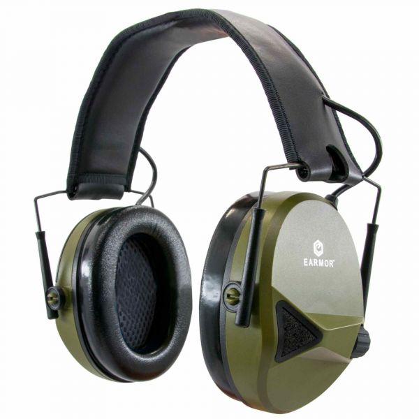 Earmor Casque anti-bruit électronique M30 NRR 24 foliage green