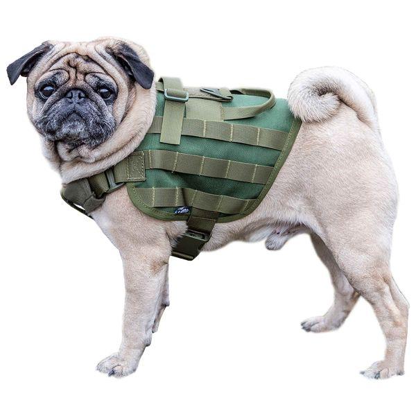Primal Gear Harnais pour chien Light Dog Harness olive