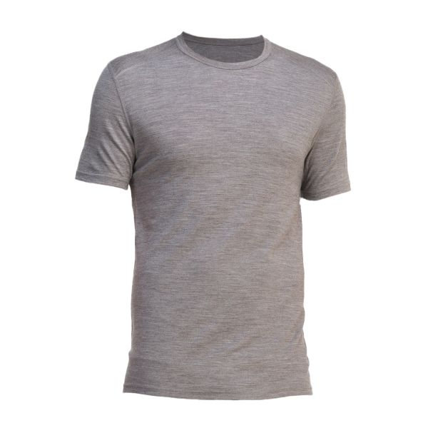 T-Shirt Manches Courtes Icebreaker Oasis Crewe gris