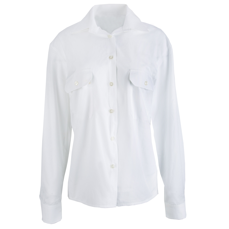 Chemise de service BW Femmes manches longues blanc occasion