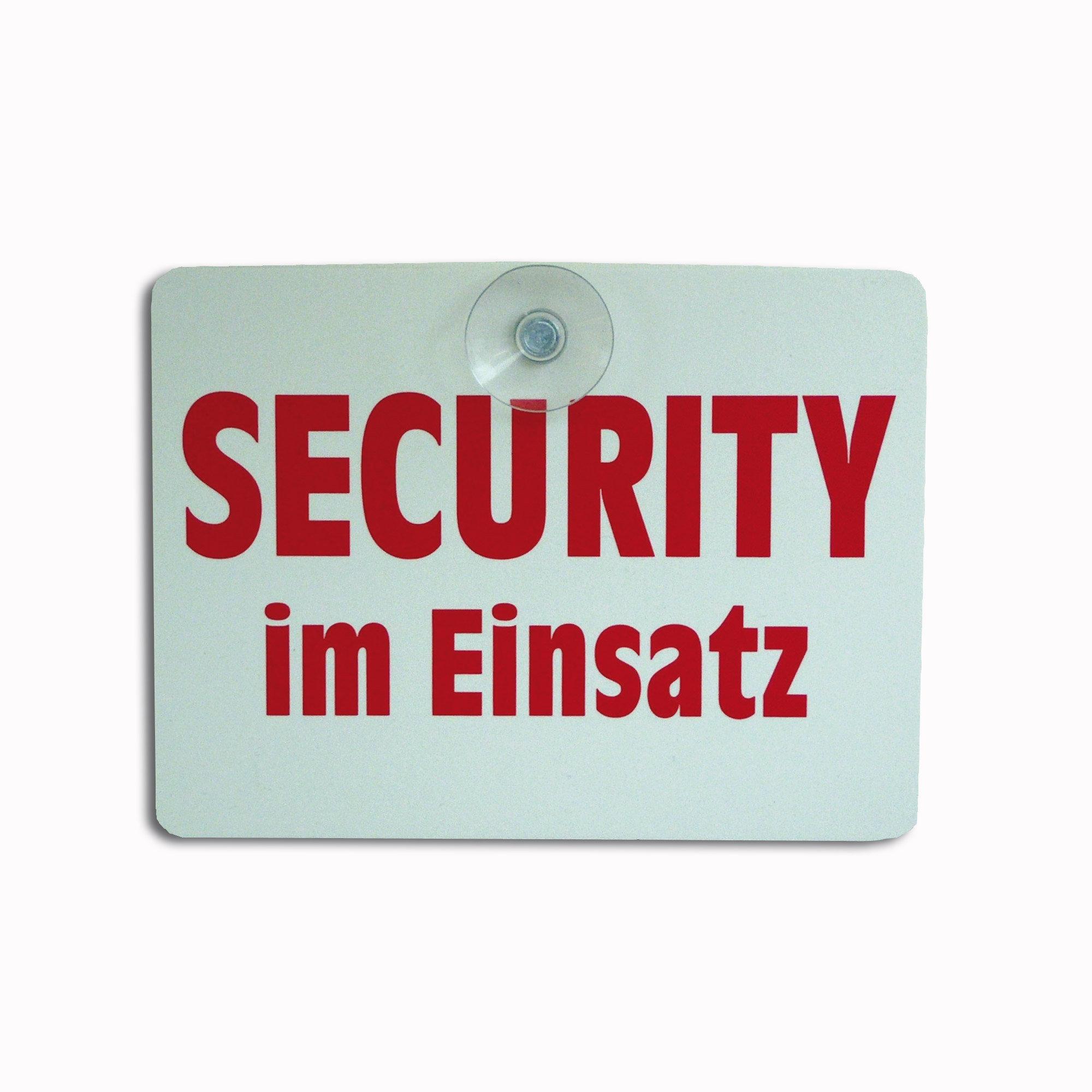 Panneau Security im Einsatz