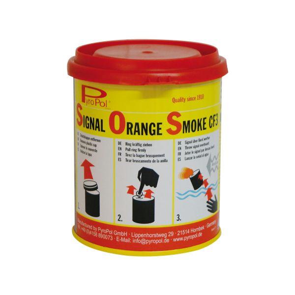 Fumigène flottant CF3 orange