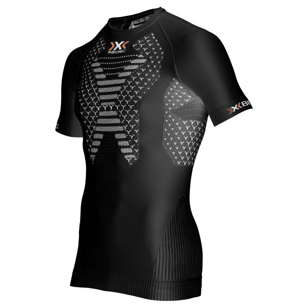 X-Bionic T-Shirt Running Man Twyce noir blanc
