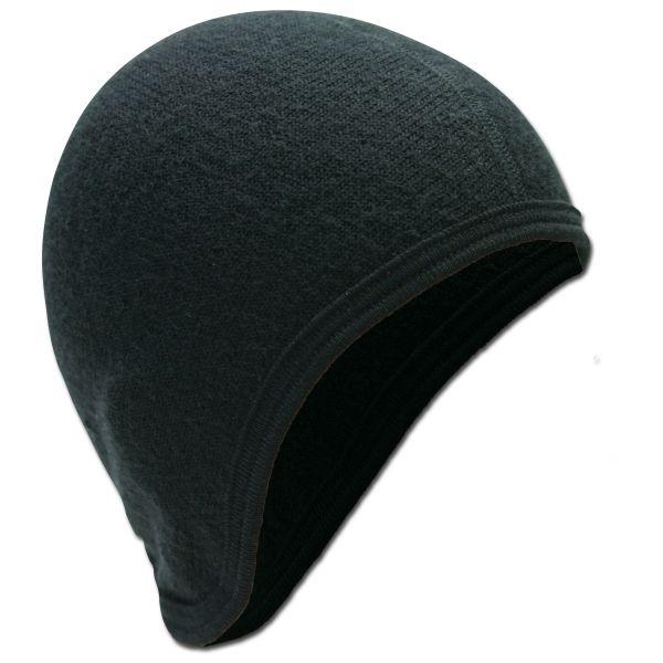 Bonnet casque Woolpower 400 noir