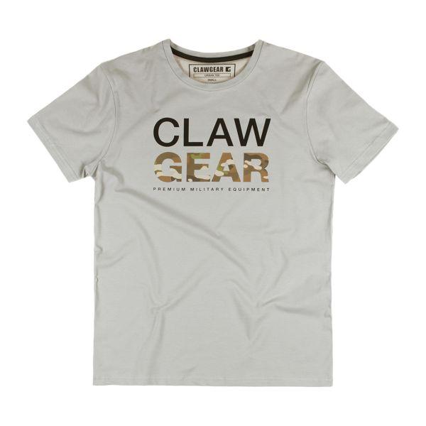 ClawGear T-Shirt Mc Tee light grey