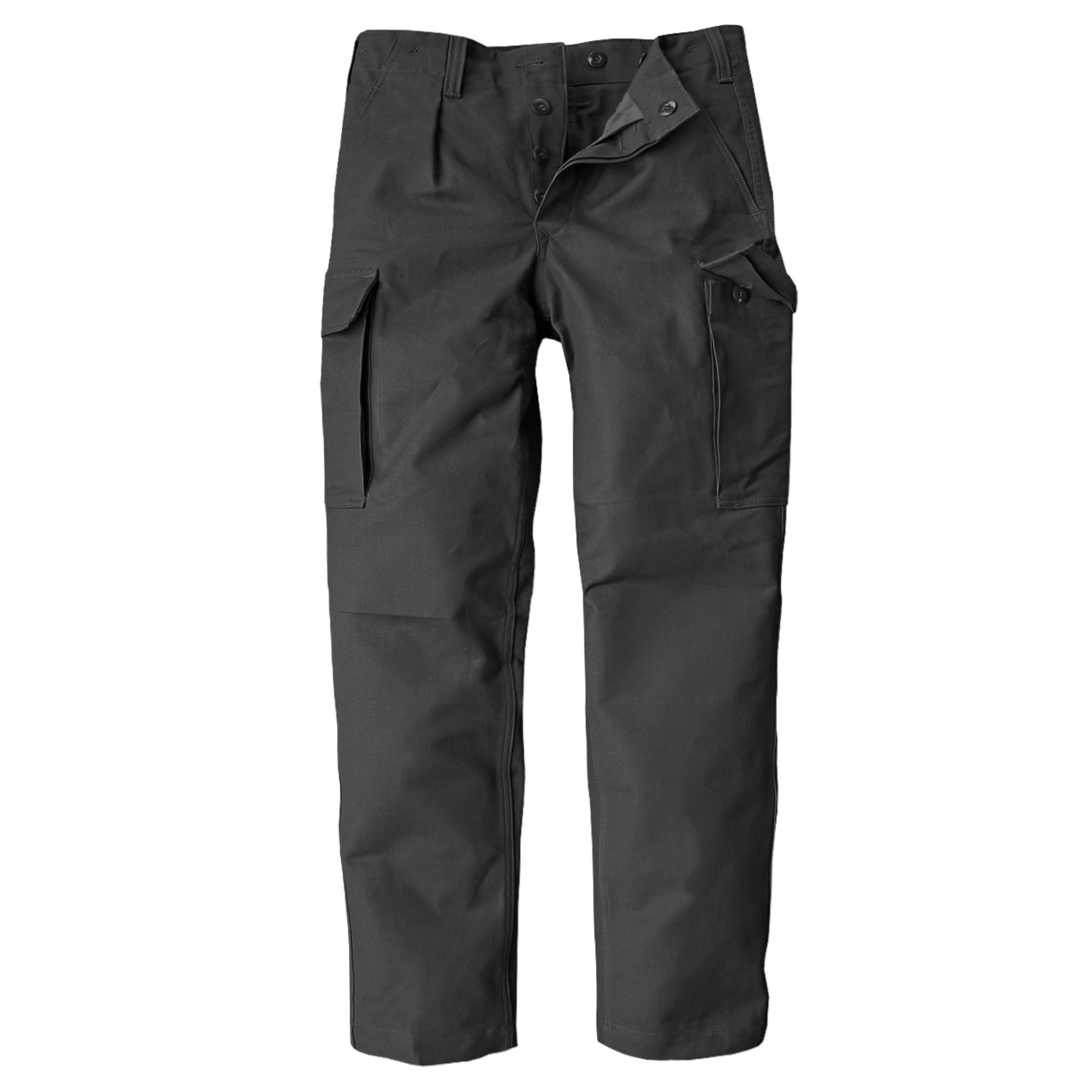 Pantalon moleskine BW Brandit Original TL noir