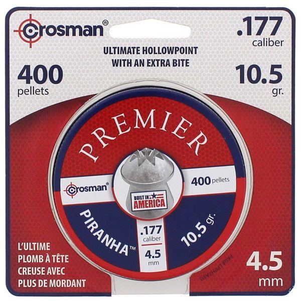 Crosman Plombs Piranha 4.5 mm 400 pcs