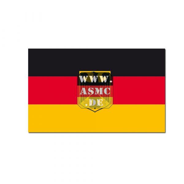 Drapeau Allemagne avec aigle