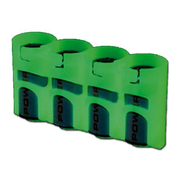 Porte-batteries Powerpax SlimLine 4 x CR123 luminescent