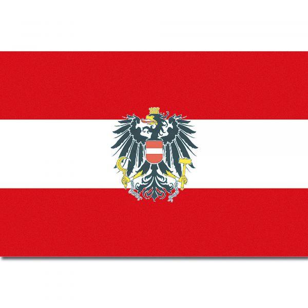 Drapeau Autriche (avec aigle)