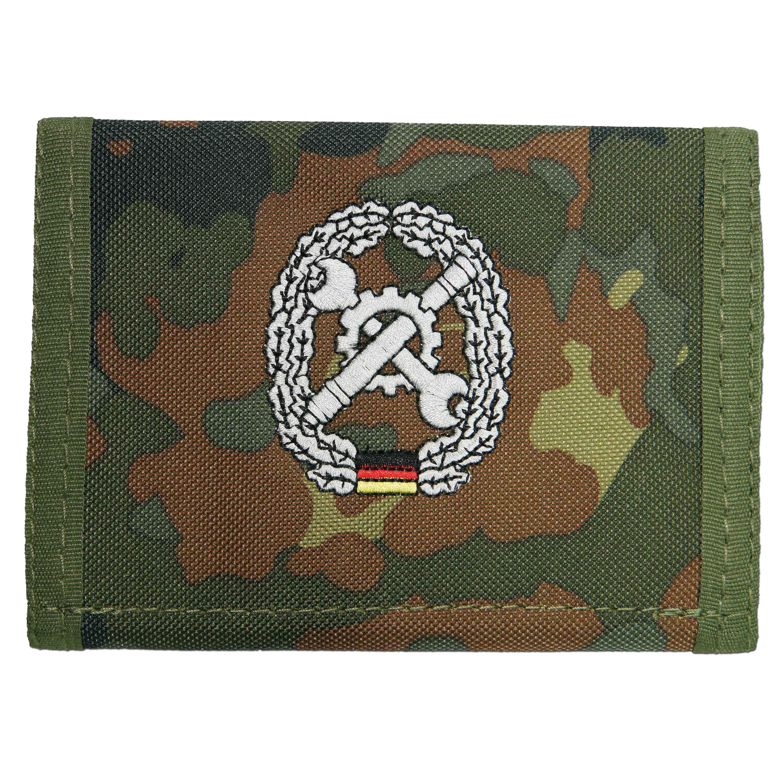 Portemonnaie Instandsetzung flecktarn