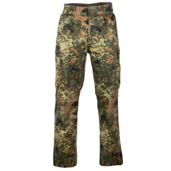 Pantalon de combat BW flecktarn usagé