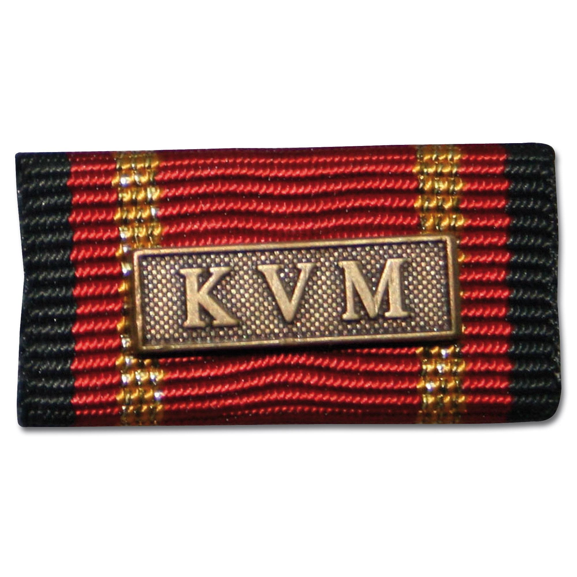 Insigne Agrafe Auslandseinsatz KVM bronze