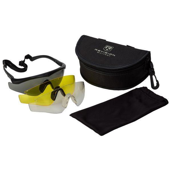 Lunettes Revision Sawfly MAX-Wrap Mission Kit régulières noires