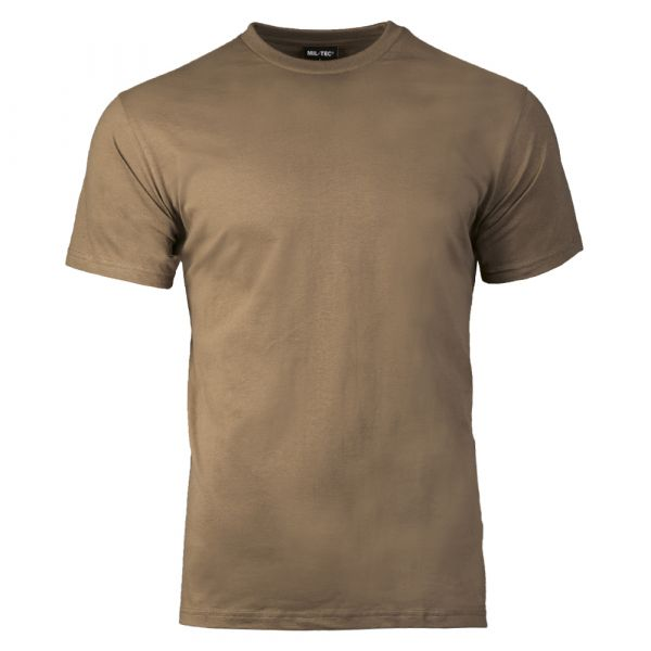 Mil-Tec T-Shirt US Style brun coyote