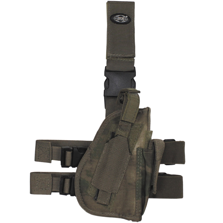 MFH Holster de jambe pour pistolet droitier HDT-camo FG